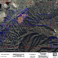 Distribution of Patented Lands and Unpatented mining claims for Van Dyke