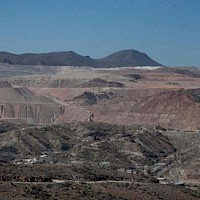 Freeport & BHP Mining Operations, Miami, AZ; Van Dyke Project in Forefront